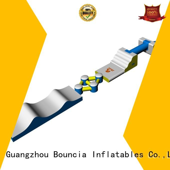 small inflatable water park aqua business Bulk Buy design Bouncia