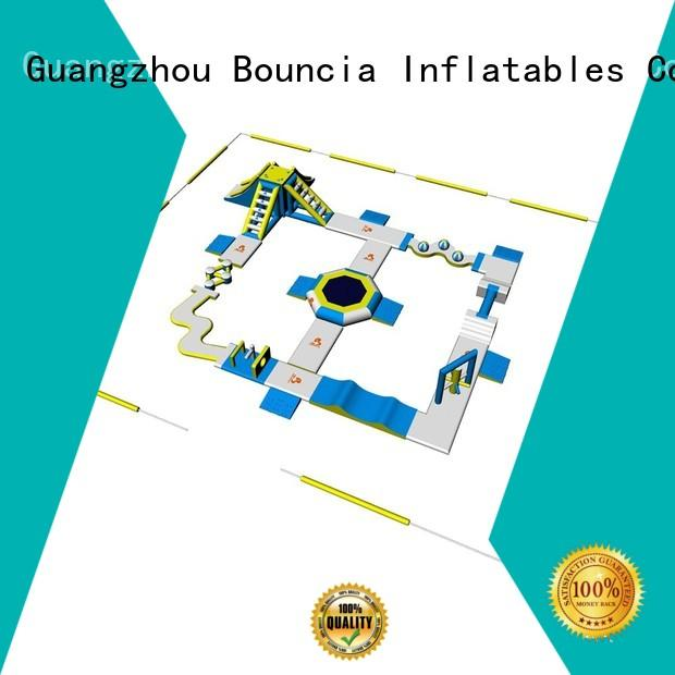 inflatable float sea Bouncia Brand blow up water park