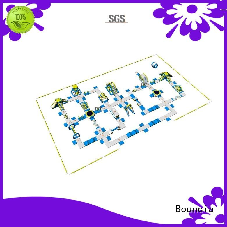 Adult Inflatable Water Park Play Equipment  WIth 0.9mm PVC Tarpaulin