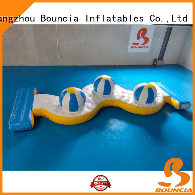 Bouncia Wholesale inflatable slip and slide from China for pool