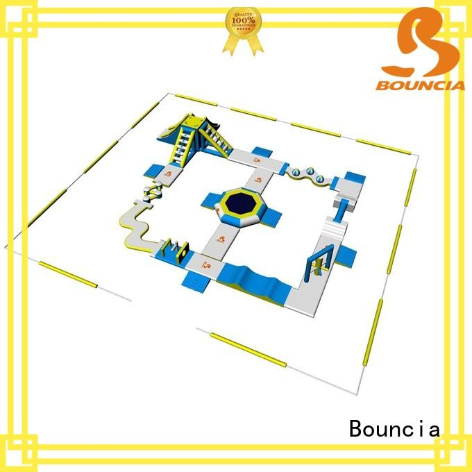 Bouncia durable inflatable water playground personalized for adults