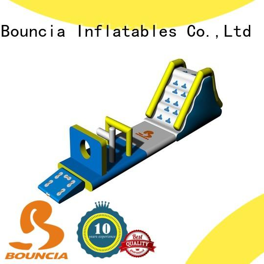 Bouncia certificated inflatable water park factory manufacturer for lake