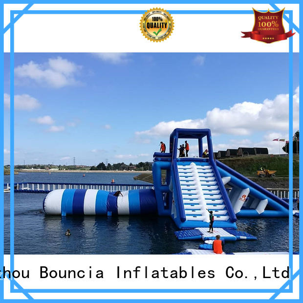 Quality Bouncia Brand inflatable factory ramp