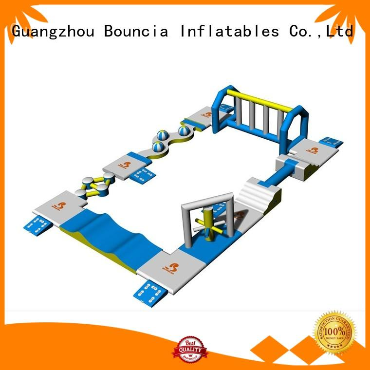 harrison price tuv professional inflatable floating water park Bouncia