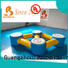 Bouncia guard tower inflatable floating slide for lake from China for pool