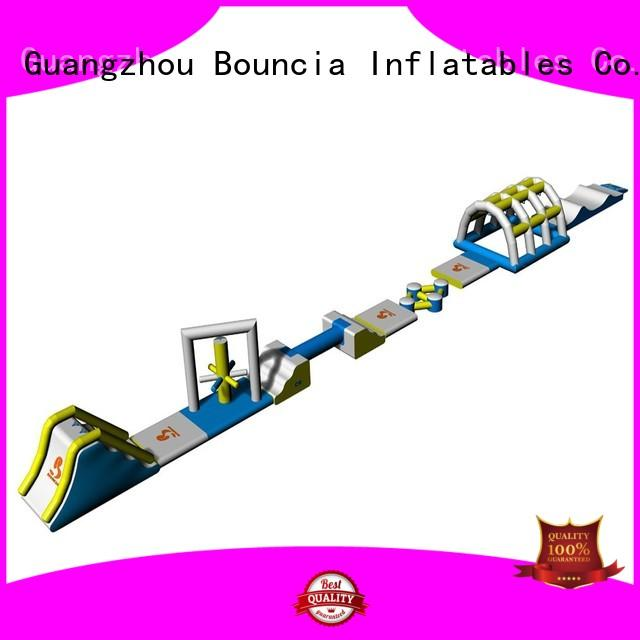 Quality Bouncia Brand big inflatable floating water park