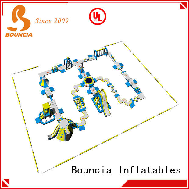 Bouncia floating water theme park wholesale for adults