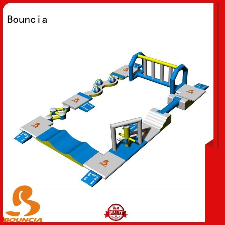 sport games mini inflatable water park series for outdoors Bouncia