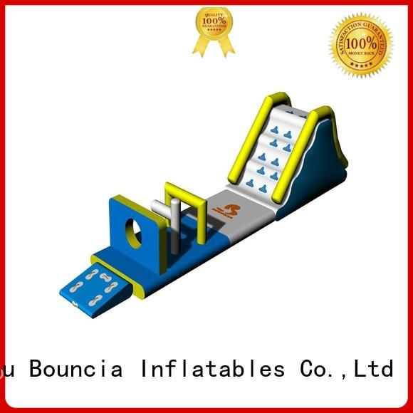 Bouncia Brand kids exciting swimming tuv inflatable floating water park