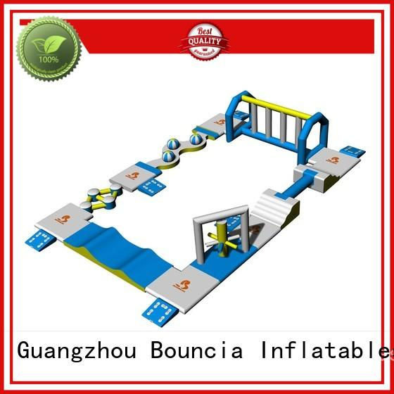 Quality Bouncia Brand inflatables floating inflatable floating water park