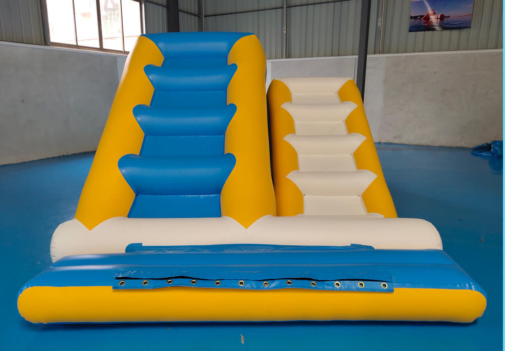 Bouncia -Water Park Games Double Ladder | Inflatable Water Obstacle Course