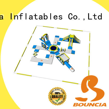 Bouncia durable water inflatables for lakes wholesale for kids