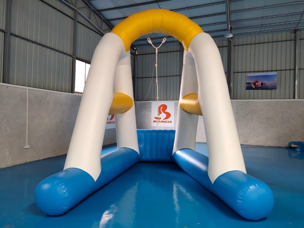 Bouncia one station inflatable obstacles Suppliers for pool-1