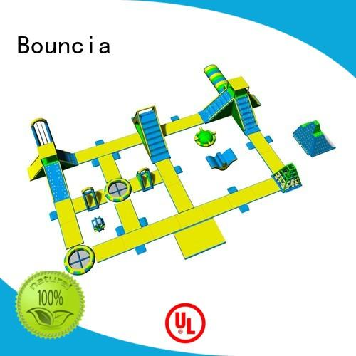 certificated big inflatable water park customized for adults