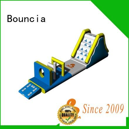 Bouncia stable inflatable water slide park from China for kids