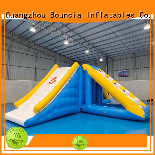 swimming Custom double inflatable water games kids Bouncia