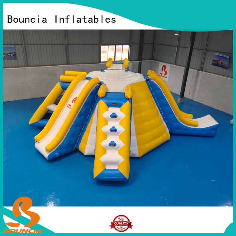 stable fun water parks trampoline from China for pool