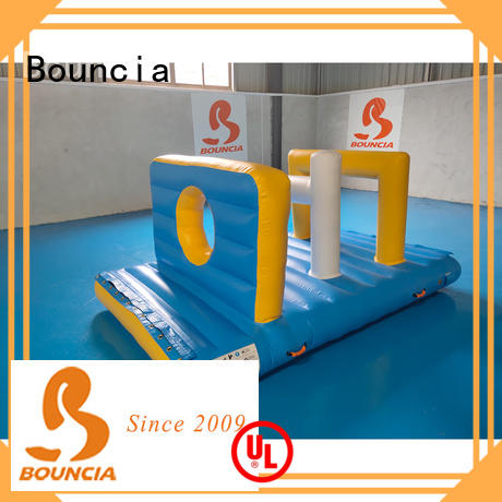 floating inflatable water park equipment trampoline customized for kids