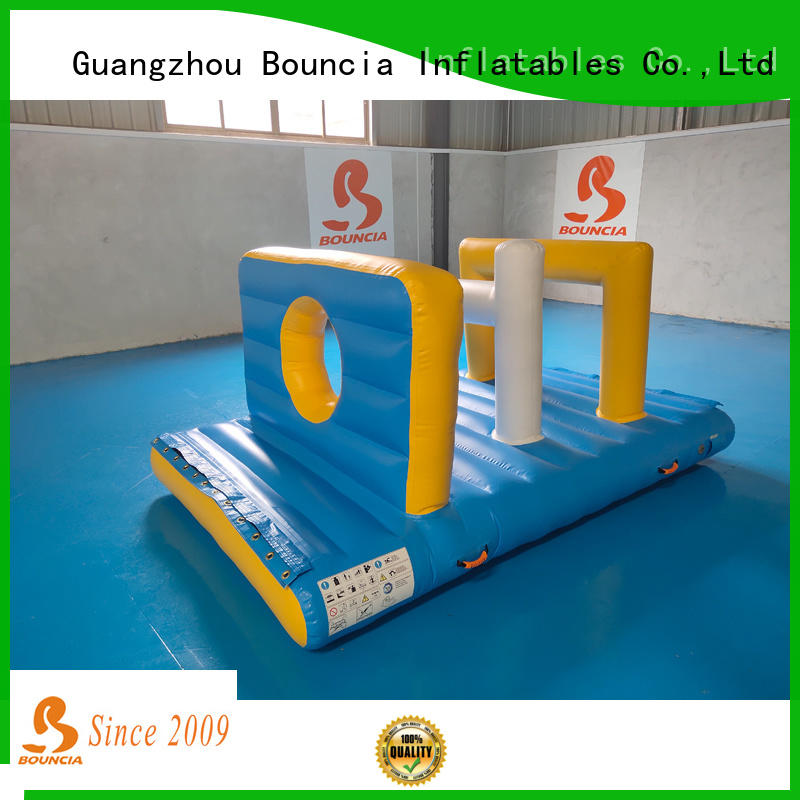 Bouncia guard tower water park playground manufacturer for pool