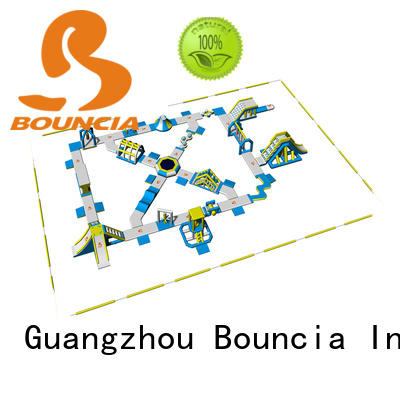 fun Custom sports playground blow up water park Bouncia sea