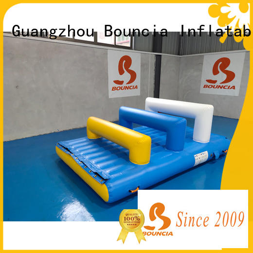 floating bouncy water park slide company for pool
