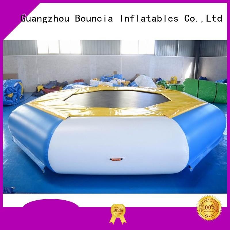 adults Custom bridge giant inflatable water games Bouncia obstcale