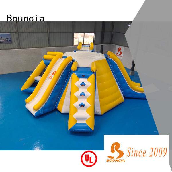 Custom inflatable floating water park for sale ramp from China for outdoors