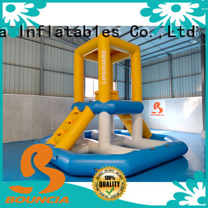 course certiifcate OEM inflatable water games Bouncia