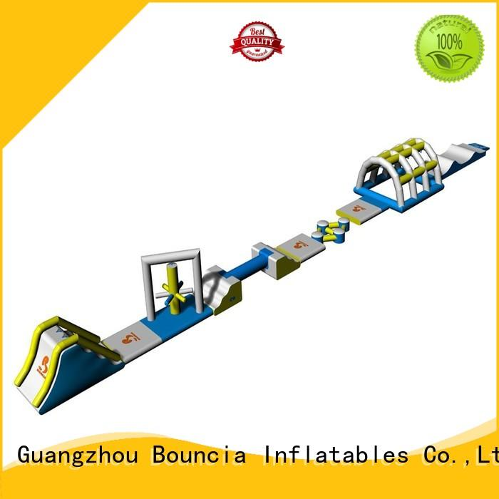 commercial inflatable water park course for pools Bouncia
