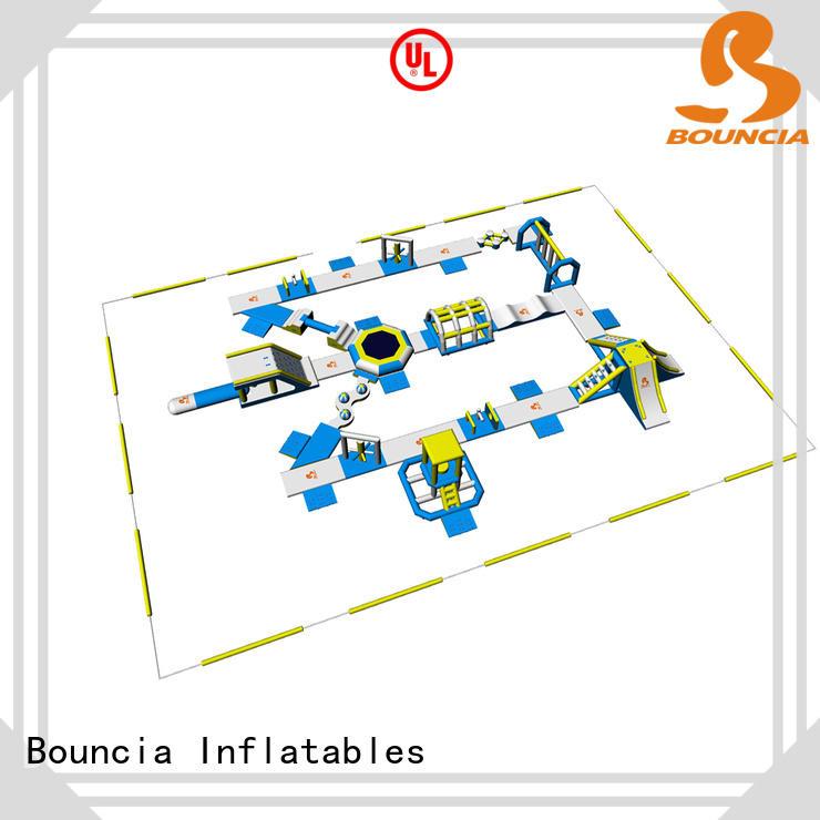 Bouncia equipment inflatable aqua park for outdoors