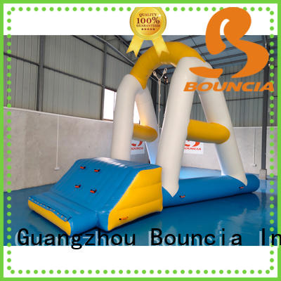 tower open inflatable water games playground Bouncia Brand company