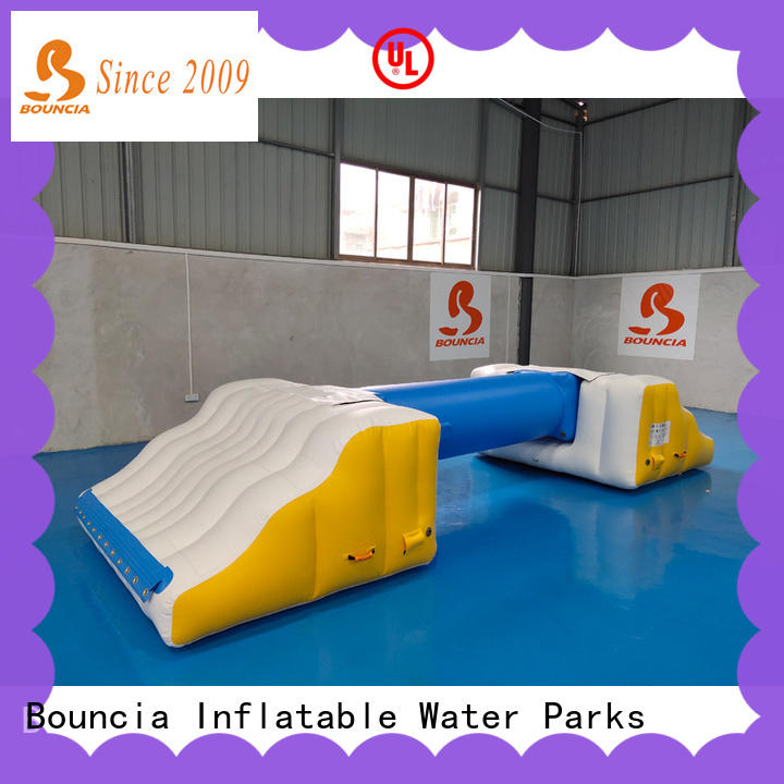 Bouncia durable commercial inflatable water parks for sale customized for outdoors