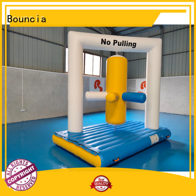 inflatable factory certiifcate colum inflatable water games obstcale company