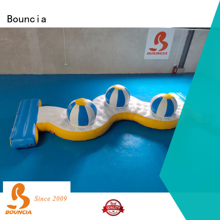 Bouncia New outdoor inflatable water park customized for outdoors