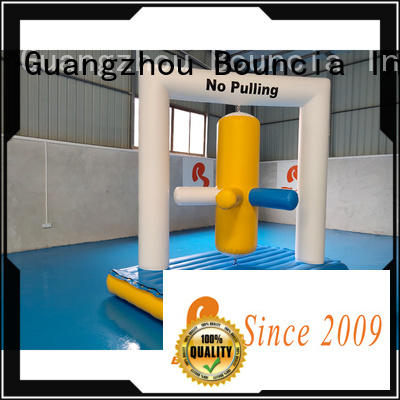 Bouncia games inflatable waterslides series for pool