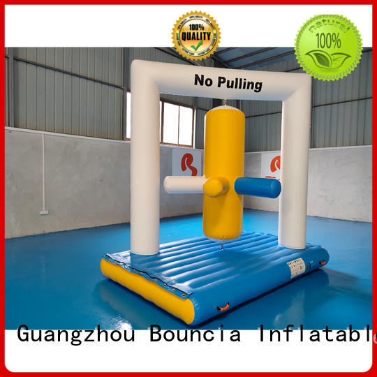 Custom trendy 09mm inflatable water games Bouncia pvc