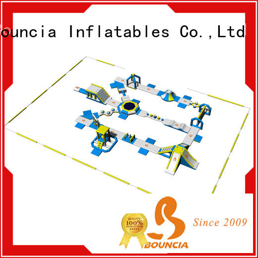 Bouncia park outdoor water park factory price for lake