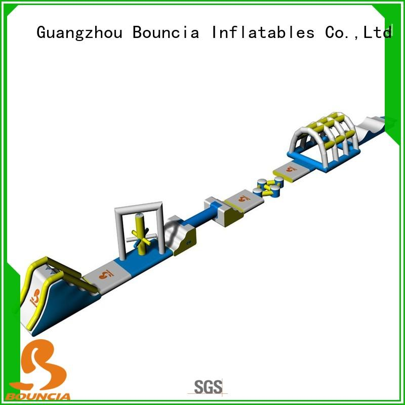 Bouncia floating water park project sport games for kids