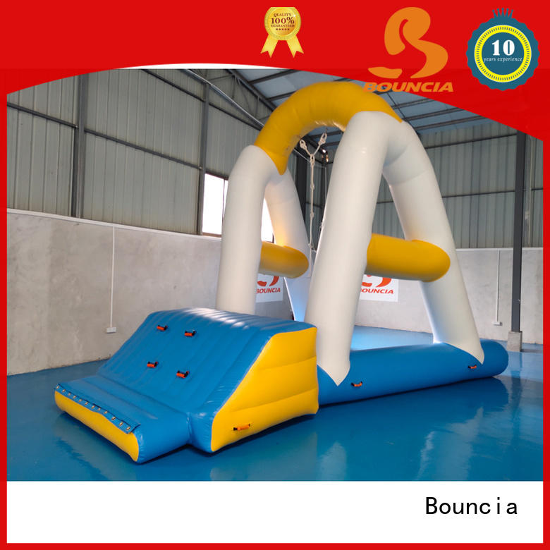 Latest inflatable water activities climbing manufacturers for pool