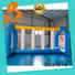 Bouncia durable inflatable slip and slide for outdoors