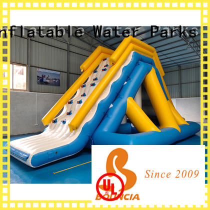 Bouncia course inflatable backyard water park for pool