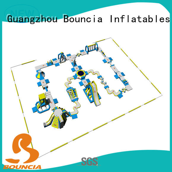 Bouncia bouncia inflatable water slide for lake supplier for kids