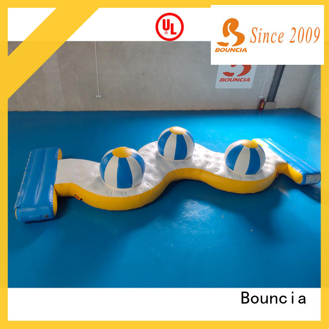 Bouncia durable aquapark manufacturers for pool