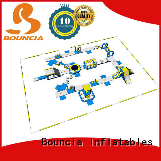 certificated inflatable water playground bouncia personalized for kids