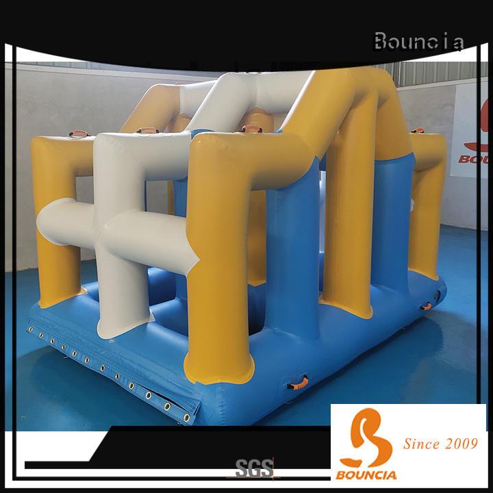 floating water park slide pvc manufacturers for kids