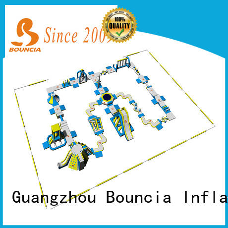 Bouncia 100 people inflatable water slide for sale personalized for outdoors
