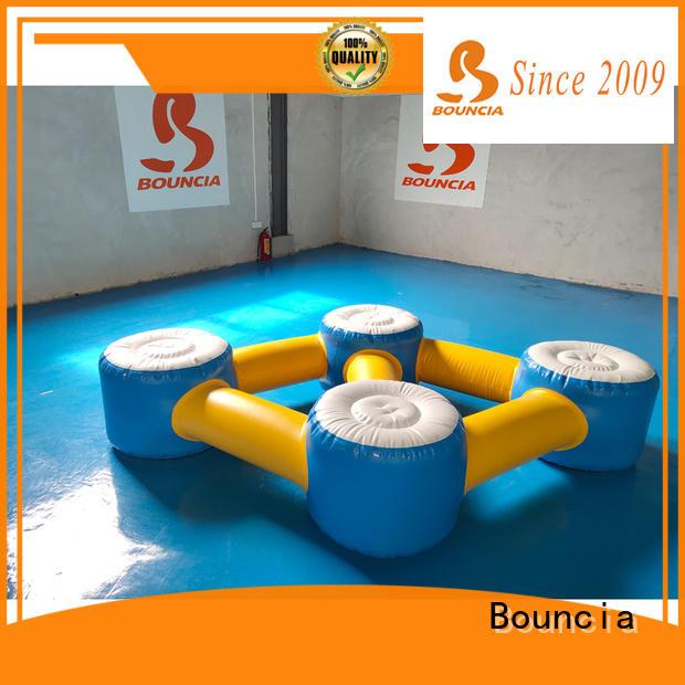 Bouncia durable aqua park manufacturers for kids