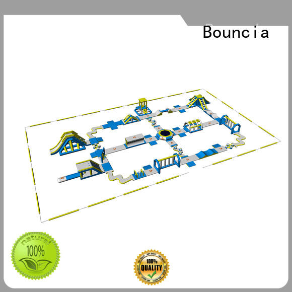 100 people big inflatable water park factory price for kids Bouncia