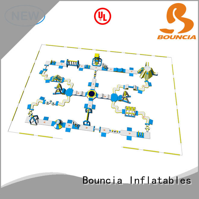 Bouncia big best inflatable water park series for outdoors