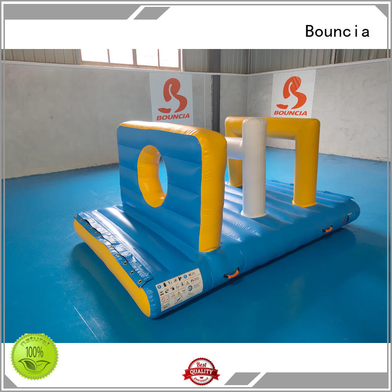 floating inflatable factory games Bouncia company